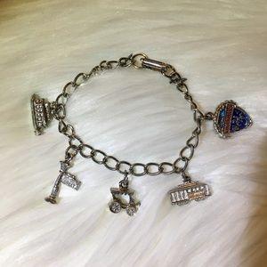 Vintage New Orleans Charm Bracelet - Solid Copper